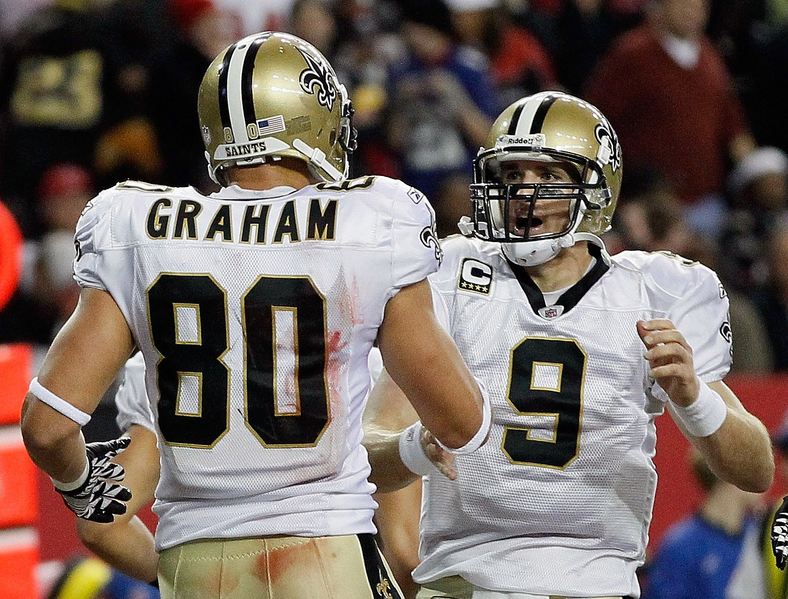 Week 1 Brees and Graham